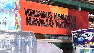 Fundraising drive for Navajo Nation
