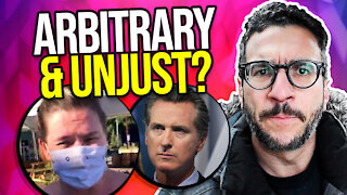 Gavin Newsom is Getting SUED! Lawyer Explains - viva Frei Vlawg