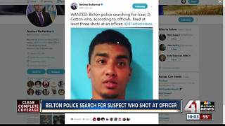 Suspect shoots at Belton officer after traffic stop - Video
