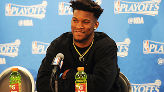 Jimmy Butler Gets HILARIOUS Text Messages After Giving Out His Phone Number - Video