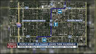 HART changing bus route in wake of Seminole Heights killings - Video