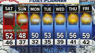 13 First Weather Forecast for Dec. 23 - Video