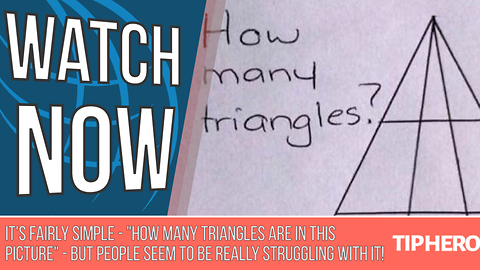 If You Can Crack This Triangle Brain Teaser,  You Might Just Be a Genius