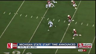 Michigan State start time announced