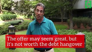 Store credit cards can deepen your debt - Video
