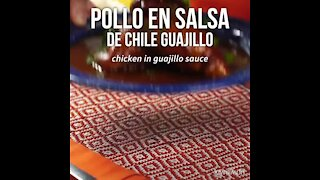 Chicken in Chile Sauce Guajillo