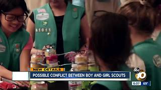 Possible conflict between boy and girl scouts - Video