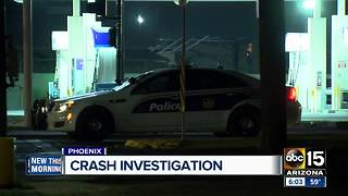 Police investigating crash near 7th Avenue and Broadway