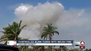 Wind shift is to blame for massive fire in Everglades - Video