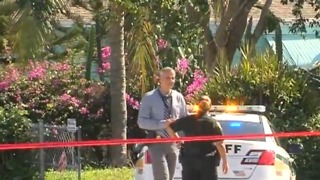 2 shot, 1 dead near Lantana, Palm Beach County Fire Rescue says - Video