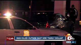 Man shot, killed on Indianapolis' east side - Video