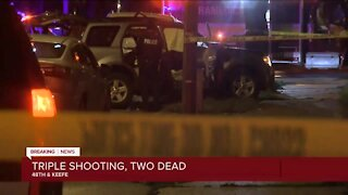 MFD: 2 killed, 1 injured in shooting/car crash at 48th and Keefe on Milwaukee's north side