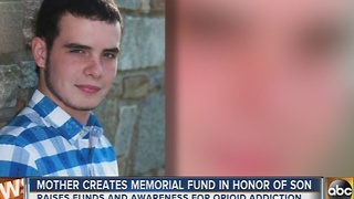 Mother creates Jordan Barron Roche Memorial Fund to honor son who died from heroin overdose - Video
