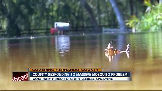 Hernando County gets help with mosquito outbreak - Video