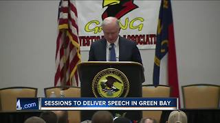 U.S. Attorney General Jeff Sessions to speak in Green Bay Tuesday - Video