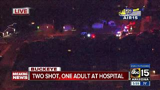Police investigating shooting in Buckeye - Video