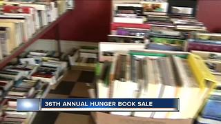 36th annual Hunger Book Sale is this week - Video