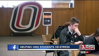 Helping UNO students de-stress