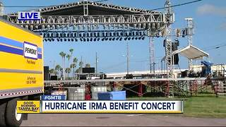 Benefit concert to help raise money for Hurricane Irma victims - Video