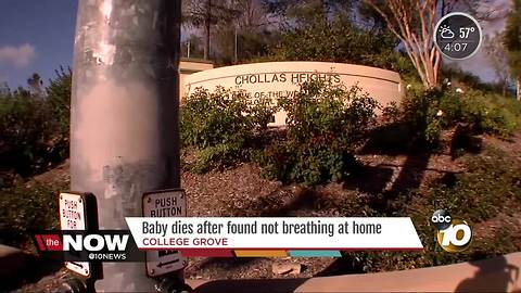 Baby dies after found not breathing at College Grove home