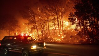 California Fires Spread, Scorching Over 600 Square Miles