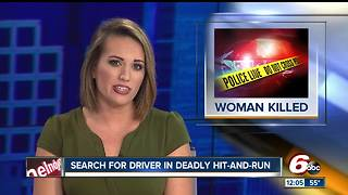 Person killed in Indianapolis hit-and-run, police looking for vehicle involved - Video
