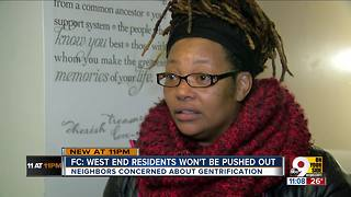 FC Cincinnati: West End residents won't be pushed out - Video