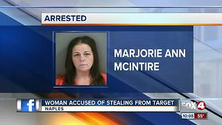 Woman Accused of Stealing from Target - Video