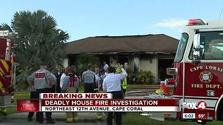 Fire kills 1 in Cape Coral, pets missing - Video