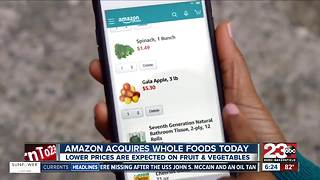 Amazon and Whole Foods Prices - Video
