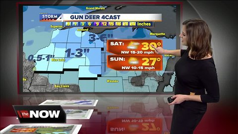 Geeking Out: A second round of snow on the way
