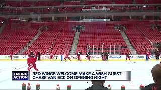 Red Wings home opener at Little Caesars Arena - Video