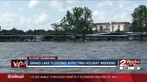 Grand Lake flooding affecting businesses, travel before holiday weekend