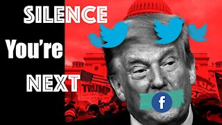 Trump Silenced by Silicon Valley -- Free Speech Gets Hit By Lightning Bolt