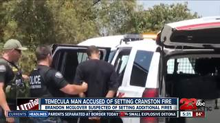 Temecula man arrested, charged with arson - Video