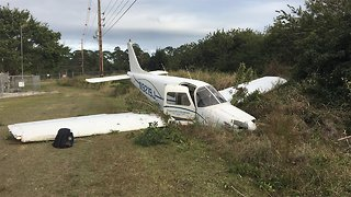 Small plane crashes behind Indian River County Jail