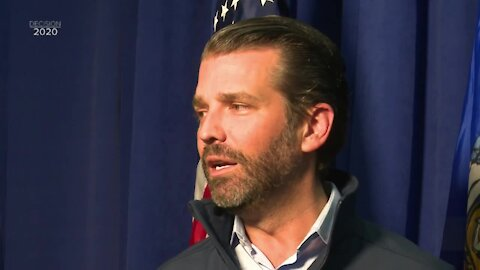 Donald Trump Jr. campaigns in De Pere