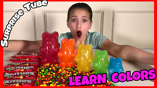 Learn Colors with Gummy Bears - Video