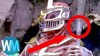 Top 10 Power Rangers Fails - Video