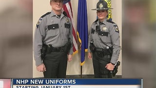 No more blue: Nevada Highway Patrol getting new uniforms - Video