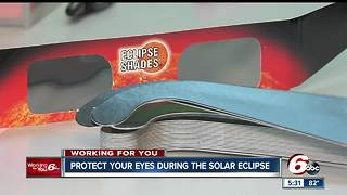 Information on protecting your eyes during the solar eclipse - Video
