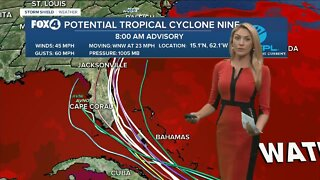 Potential Tropical Cyclone Nine