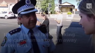 Video: Police Forbid Journalist from Walking Past Mosque - Video