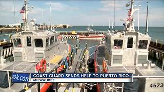 Local Coast Guard crew headed to Puerto Rico - Video