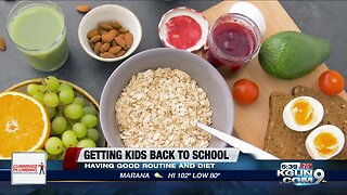 Getting your kids back to school ready with a regular routine