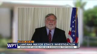 Lantana mayor ethics investigation - Video