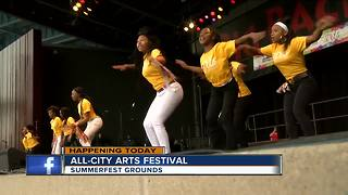Milwaukee Public Schools hosts arts festival - Video