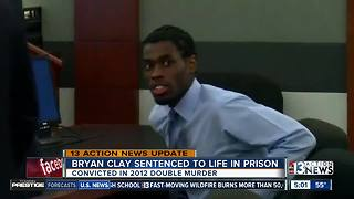 Bryan Clay sentenced to life in prison for murders - Video