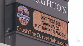 Crush the Curve working with 20 Idaho school districts
