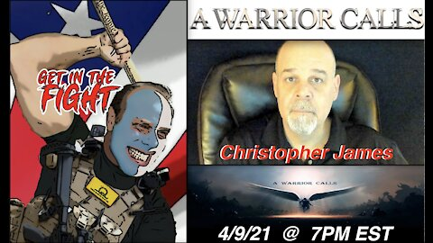 4.9.21 Patriot Streetfighter LIVESTREAM: Chris James- Common Law Will Defeat Deep State Courts